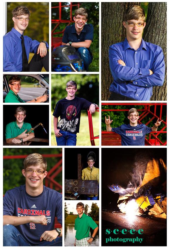 Josh Collins - Marshall County High School Senior Photography